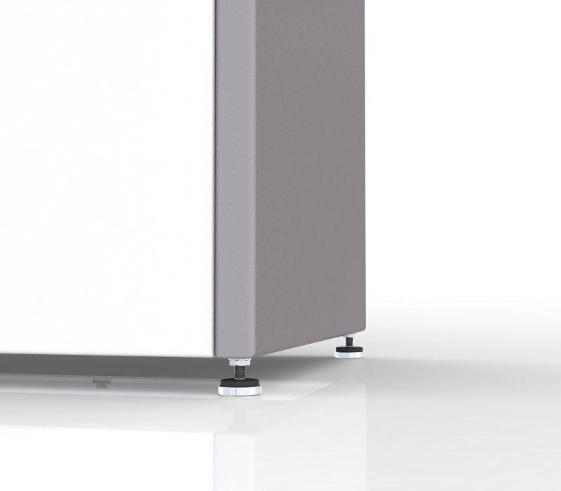 Multilith Recyclingstation mit Stellfüssen